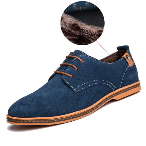 2017 New Fashion Men's Casual Lace-up Shoes