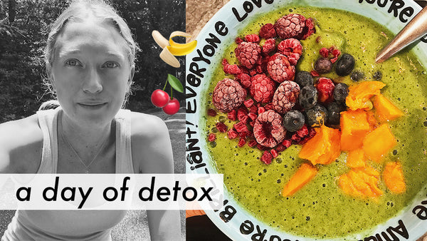 ∞ A DAY OF DETOX ∞ RAW VEGAN