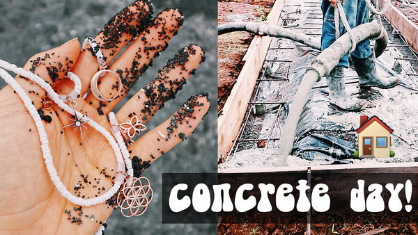 IT'S CONCRETE DAY! + NEW JEWELS