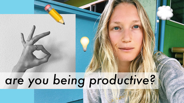 ✔ HOW TO BE PRODUCTIVE ✔