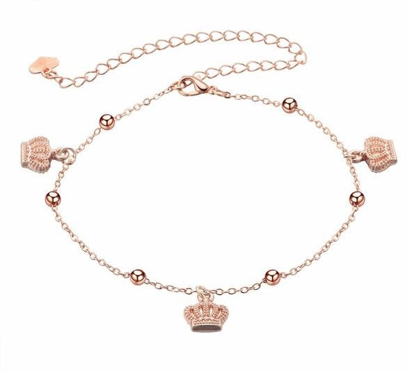 2019 Crown Princess Charm Anklet