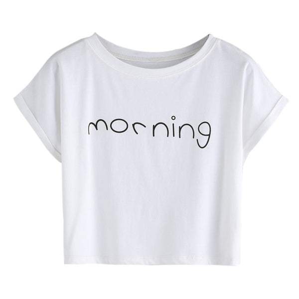 Morning Printed Tee