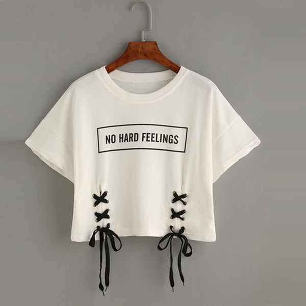 No Hard Feelings Tee