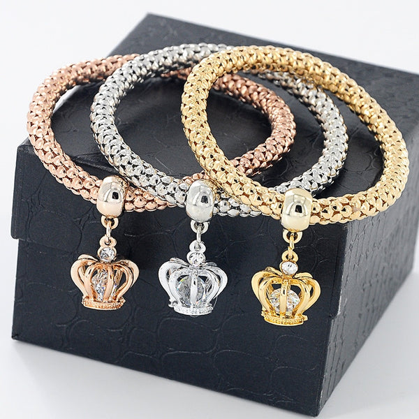 2019 Crown Princess Bracelets -3pc Set