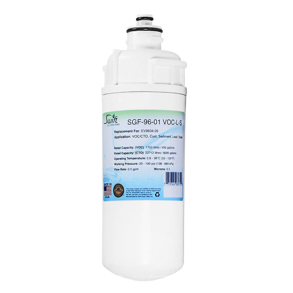 Swift Green's SGF-96-01 VOC-L-S OEM Replacement For Everpure EV9634-26 - The Filters Club
