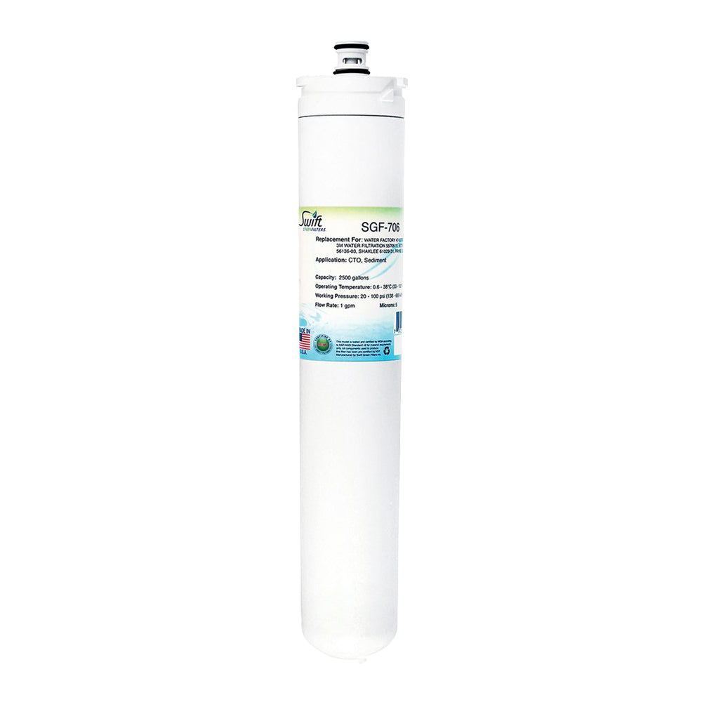 3M Water Factory 47-55706G2 Filter Replacement SGF-706 by Swift Green Filters