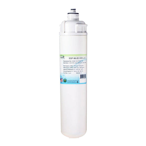 Everpure EV9611-00, EV9610-00 Filter Replacement SGF-96-20 VOC-L-S by Swift Green Filters