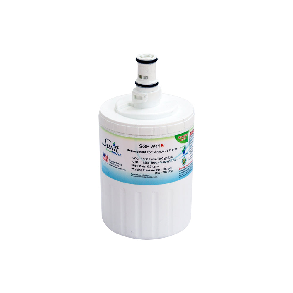 Replacement Whirlpool 8171413 8171414 EDR8D1 Refrigerator Water Filter SGF-W41 By Swift Green Filters