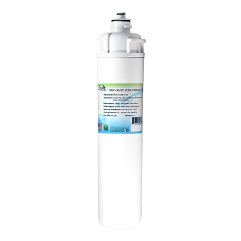 Everpure EV9612-50 EP35R Filter Replacement SGF-96-22 VOC-Chlora-L-S-B by Swift Green Filters