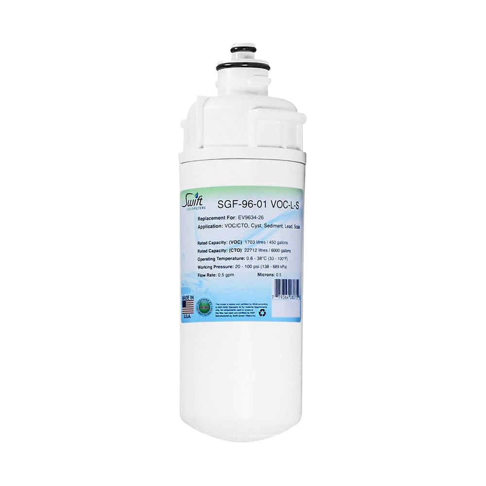 Everpure EV9634-26 Filter Replacement SGF-96-01 VOC-L-S by Swift Green Filters