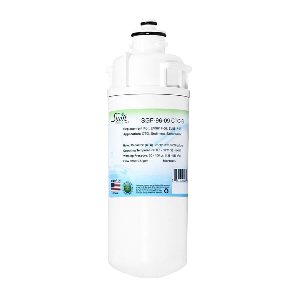 Everpure EV9617-06, EV9617-05 Filter Replacement SGF-96-09 CTO-B by Swift Green Filters