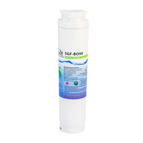 SGF-BO90 Replacement Water Filter for Bosch 644845,740570, BORPLFTR10,9000194412, 9000077104, 9000077096, 9000077095,AP3962558, RWF1000,EFF-6025A, B22CS30SNS by Swift Green Filters