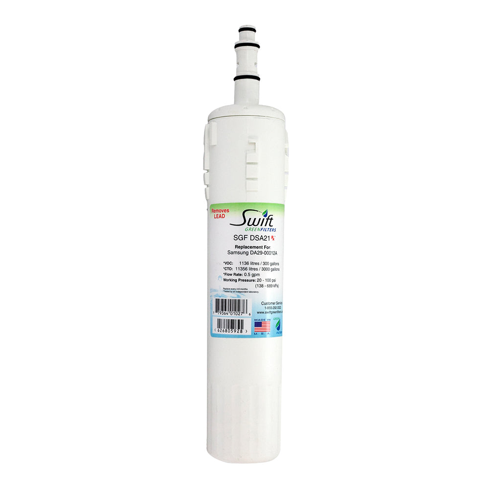 Replacement Samsung Da29-0003b HAFCU1 Refrigerator Water Filter by SGF-DSA21 Rx
