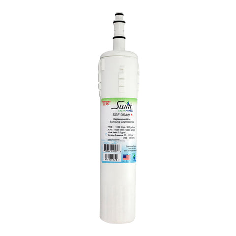 SGF-DSA21 Rx Pharmaceutical Replacement water filter for Samsung DA29-00012A,DA29-00012B, DA61-00159A,DA29-0003B,EFF-6006A-8 by Swift Green Filters