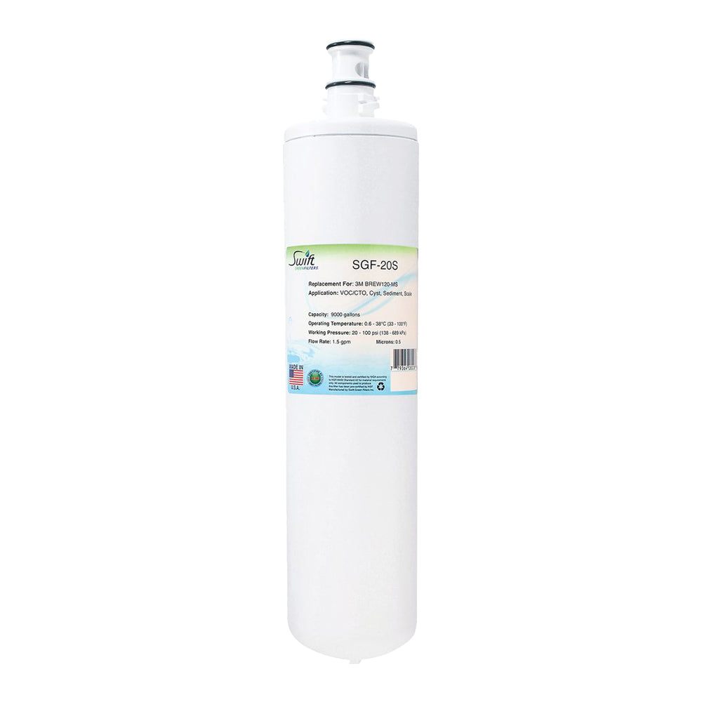 3M BREW120-MS Filter Replacement SGF-20S by Swift Green Filters
