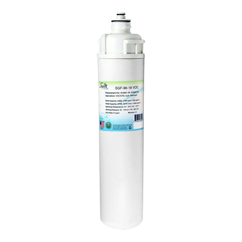Everpure EV9601-00, EV9600-00 Filter Replacement SGF-96-18 VOC by Swift Green Filters
