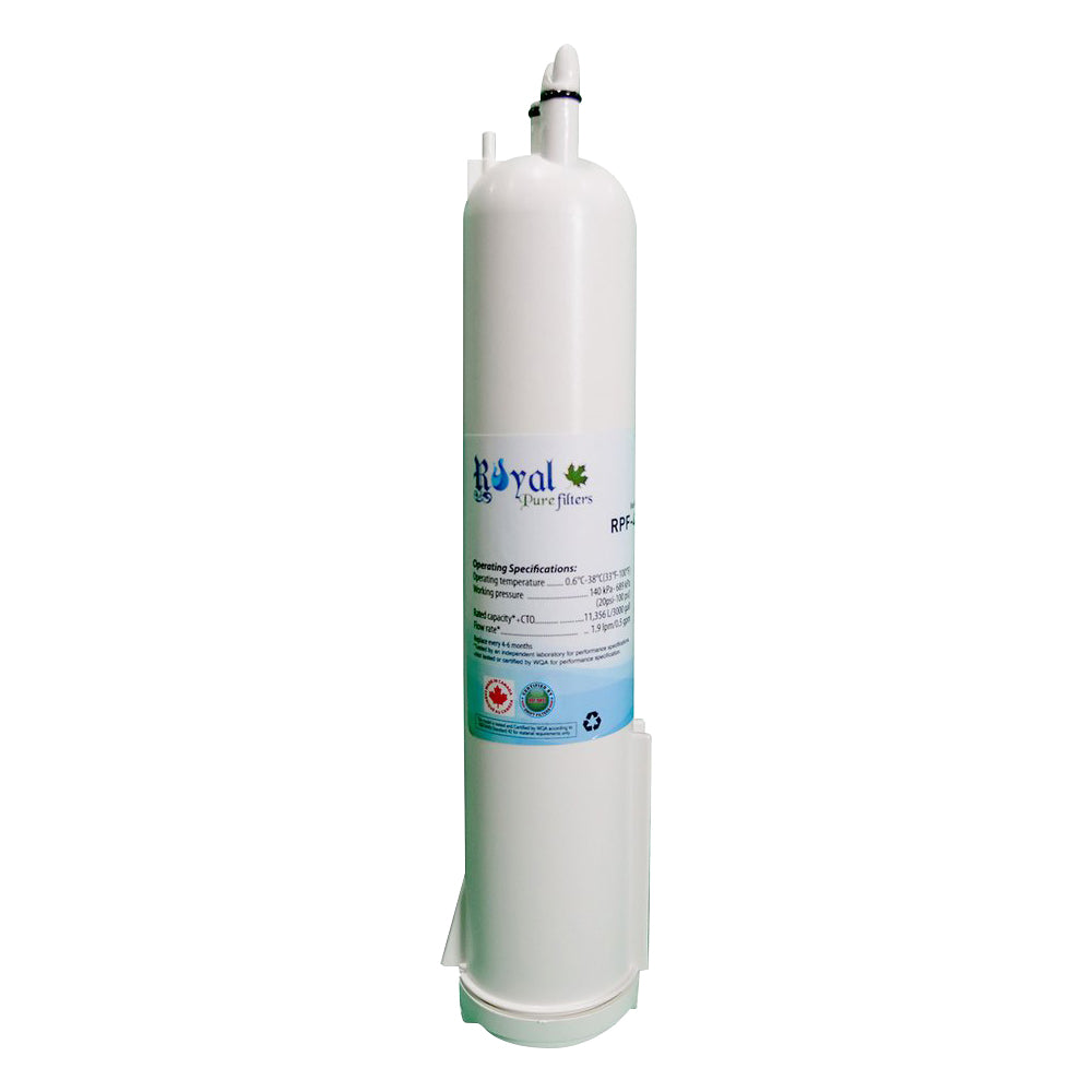 RPF-4396841 Replacement water filter for Whirlpool 4396841, W10121145, W10121146, 4396710, 4396841, P2RFWG2, T2RFWG2, T2WG2L by Royal Pure Filters