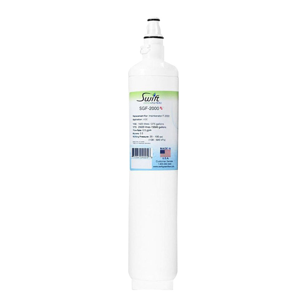 Insinkerator F-2000 Water Filter Replacement SGF-2000 by Swift Green Filters