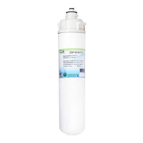 Everpure EV9617-16, Filter Replacement SGF-96-28 CTO by Swift Green Filters
