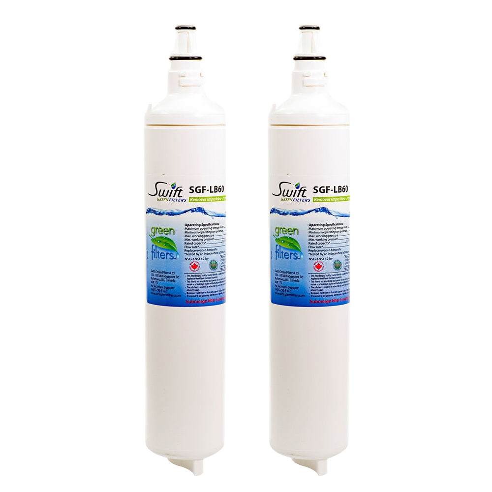 SGF LB60 Replacement for LG LT600P 5231JA2006A 46-9990 Refrigerator Water Filter