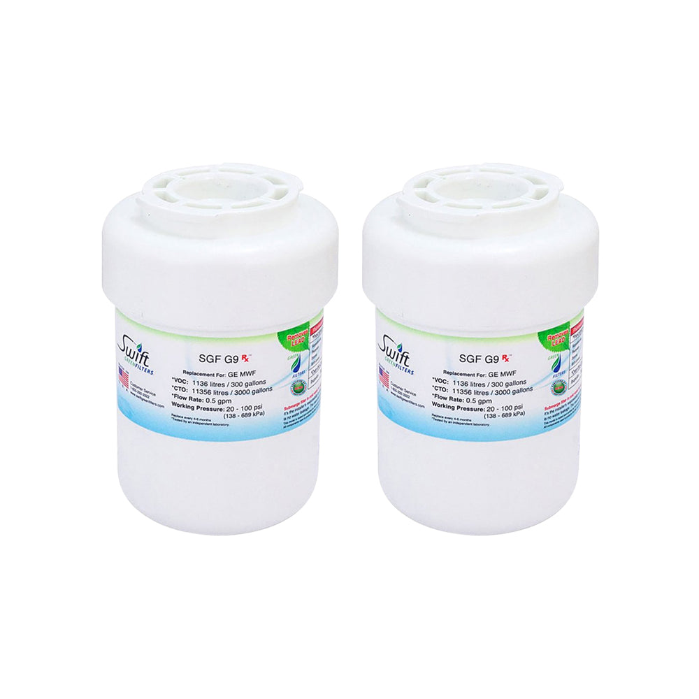 Replacement GE MWF WF287 GWF WF287 Kenmore 46999 Refrigerator Water Filter SGF-G9 Rx