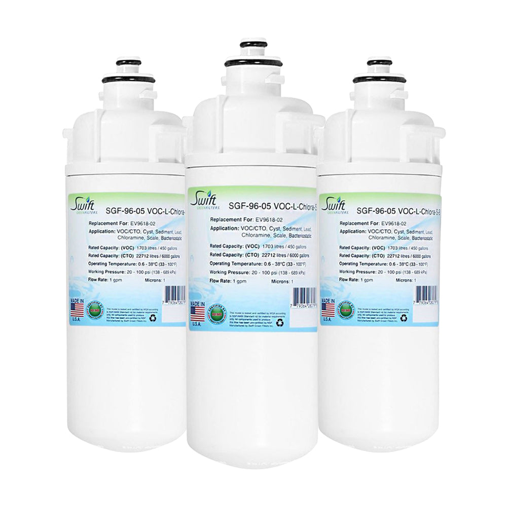 Everpure 'EV9618-02 Filter Replacement SGF-96-05 VOC-L-Chlora-S-B by Swift Green Filters