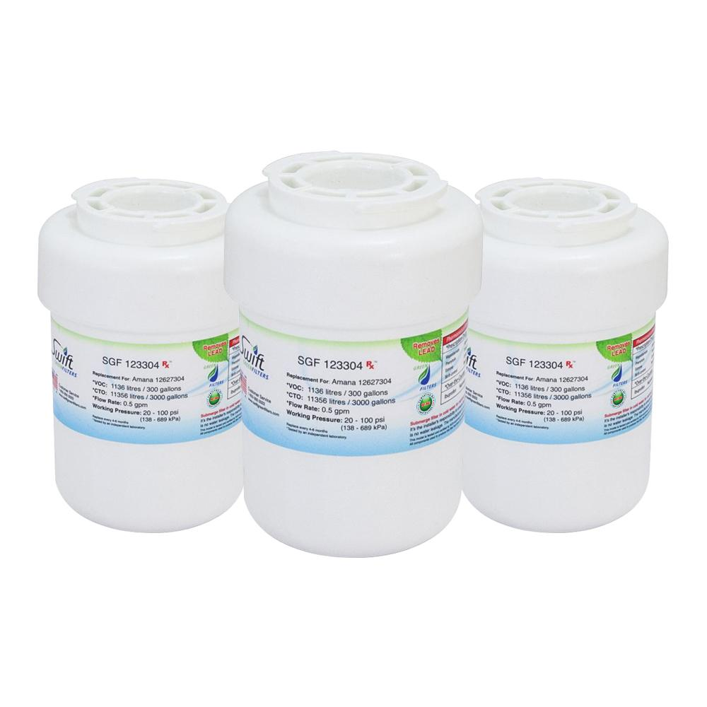 Amana 12527304,12388401/02/03/06 Compatible VOC Refrigerator Water Filter