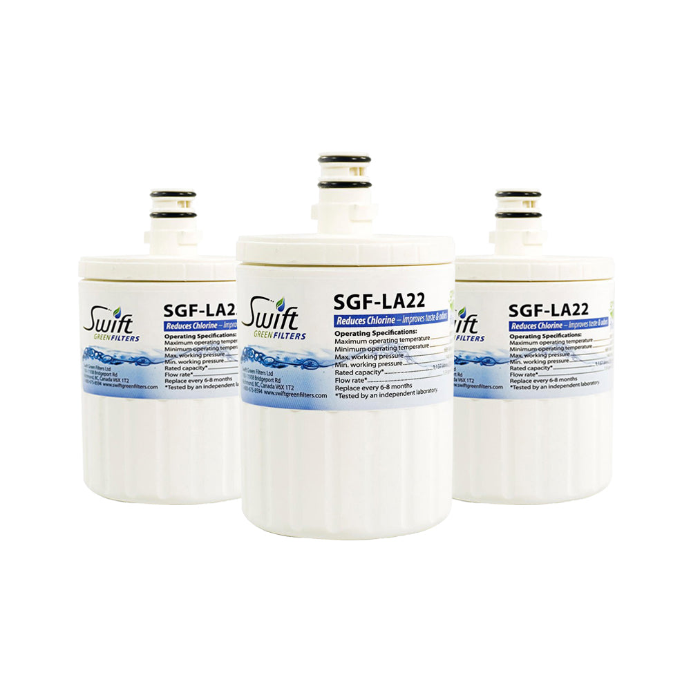 SGF-LA22 Replacement water filter for LG LT500P,5231JA2002A, 46-9890,EFF-6005A by Swift Green Filters.