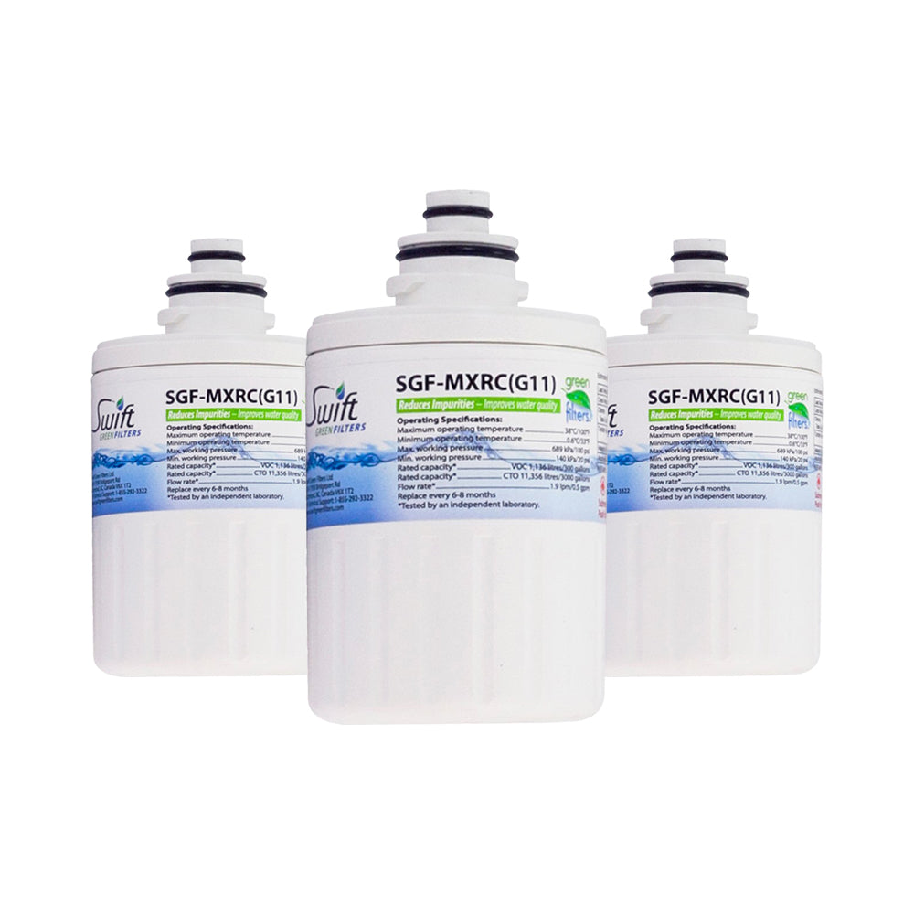 Replacement GE Smartwater FXRC MXRC 46-9905 Refrigerator Water Filter SGF-MXRC By Swift Green Filters