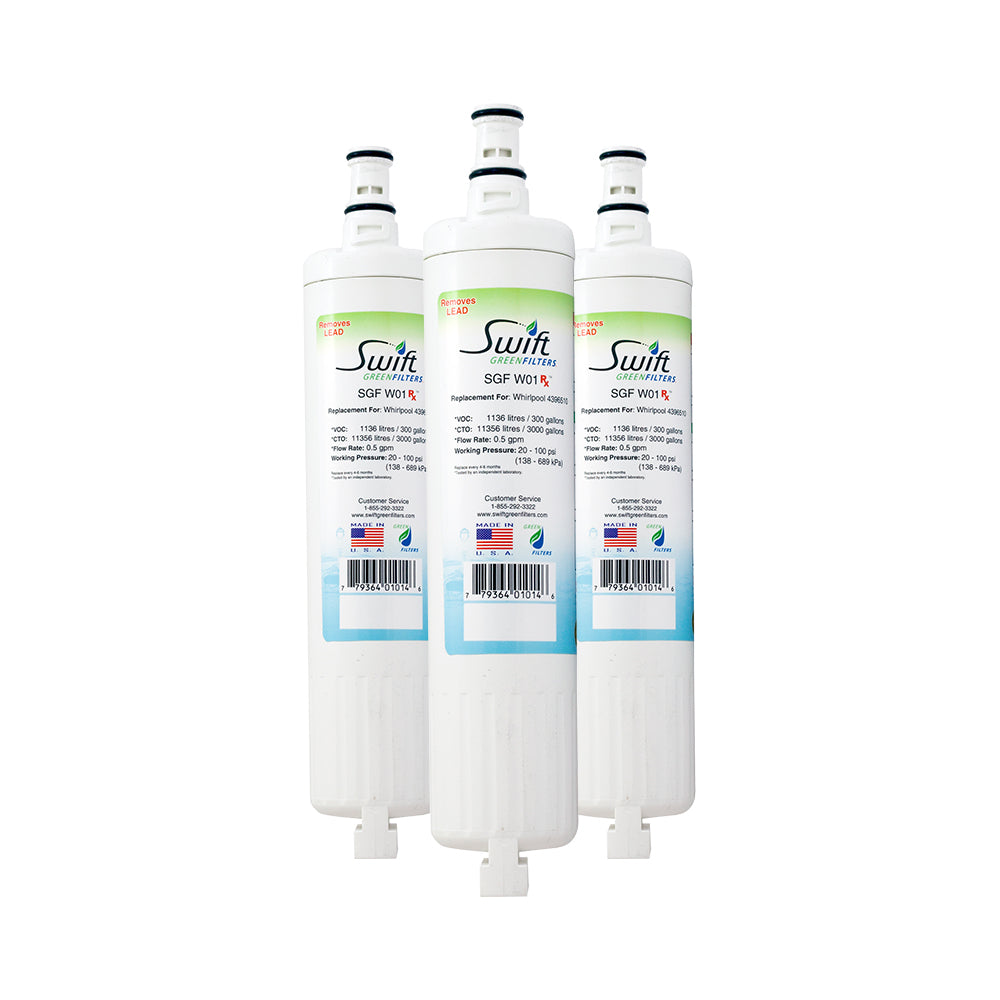 EveryDrop EDR5RXD2 Compatible Pharmaceuticals Refrigerator Water Filter