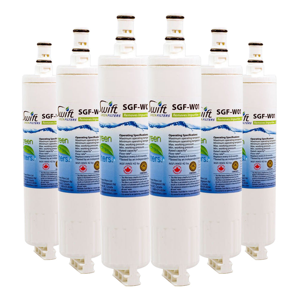SGF W01 is Replacement For Whirlpool 4396508 4396510 EDR5RXD1 Refrigerator Water Filters
