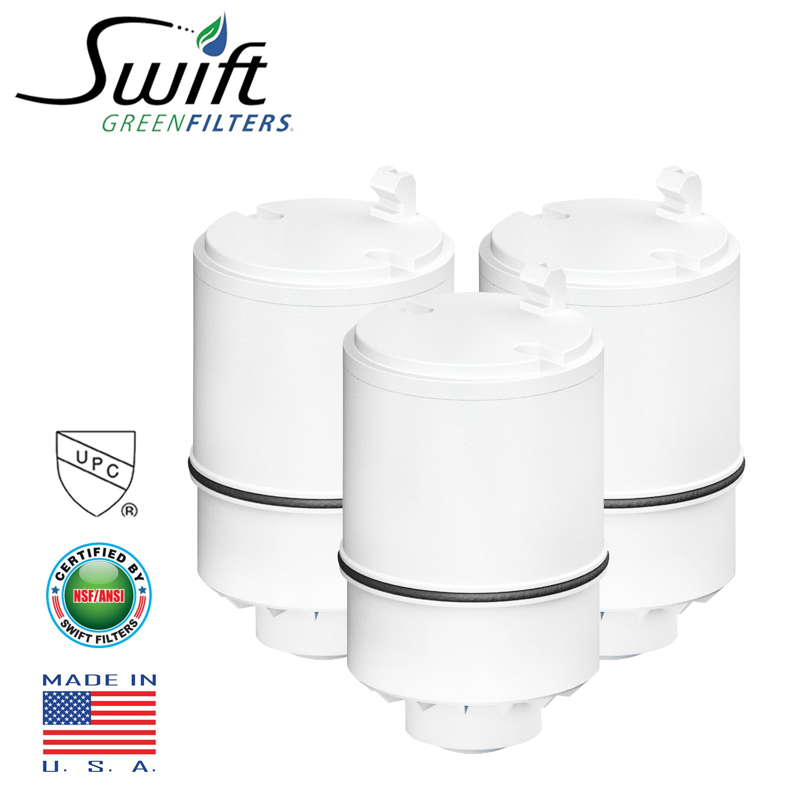 PUR Faucet RF-9999 Replacement Water Filter Refill, By Swift Green Filters SGF-RF99 Rx
