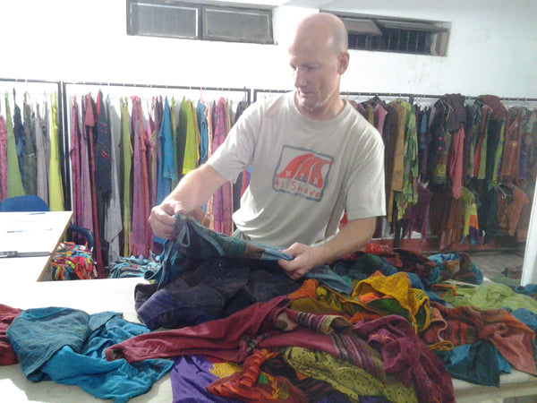 Clothes shopping in Nepal