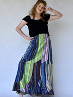 Boho Stripe Skirt