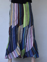 Maxi Stripe Skirt