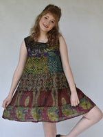 Mini Hippie Dress