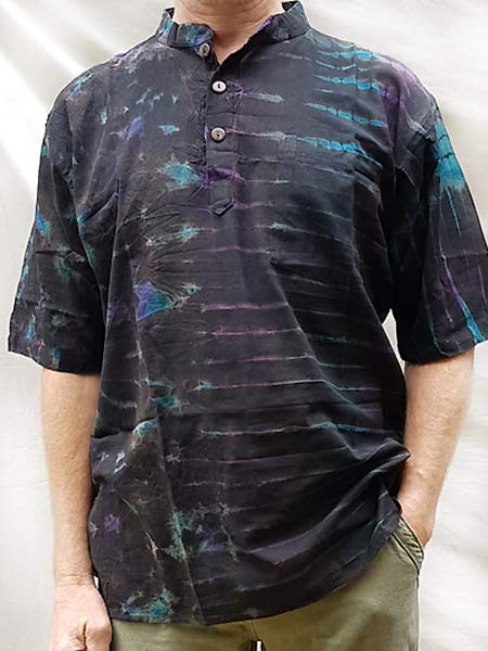 Cotton tie dye shirt