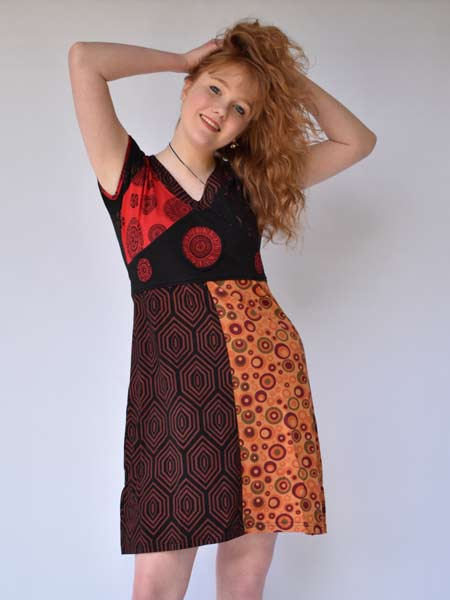 Nepalese mandala dress