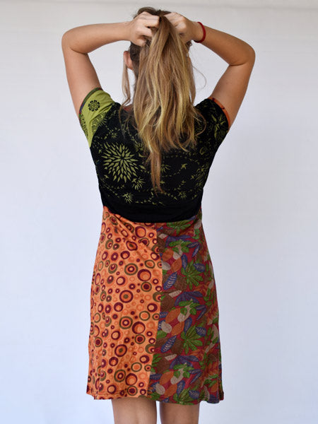Hippy-chic dress