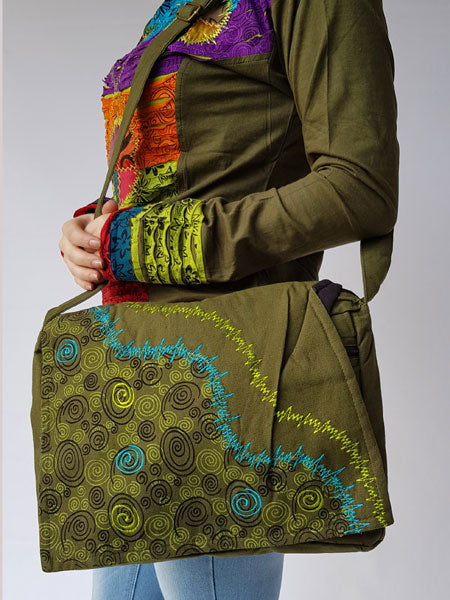 Hippie Messenger Bag
