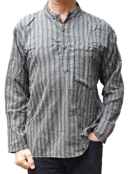 Kurtha Shirt Grey