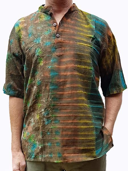 Hippie Cotton tie dye shirt