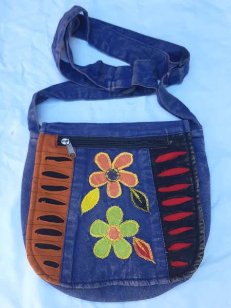 Hippie Flower Bag