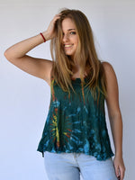 Tie Dye Ladies Tank Top