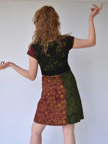 Mandala Nepalese dress