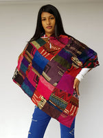 Patch Winter Poncho
