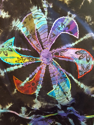Tie Dye Flower Top