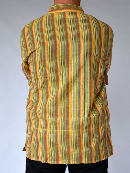 Kurtha Shirt Yellow