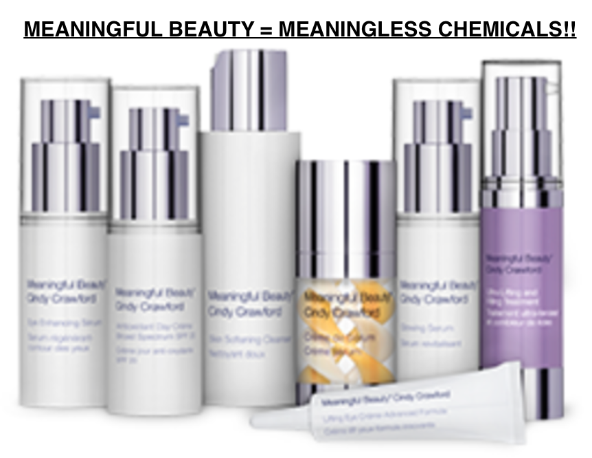 Cindy Crawford's Meaningless Chemicals