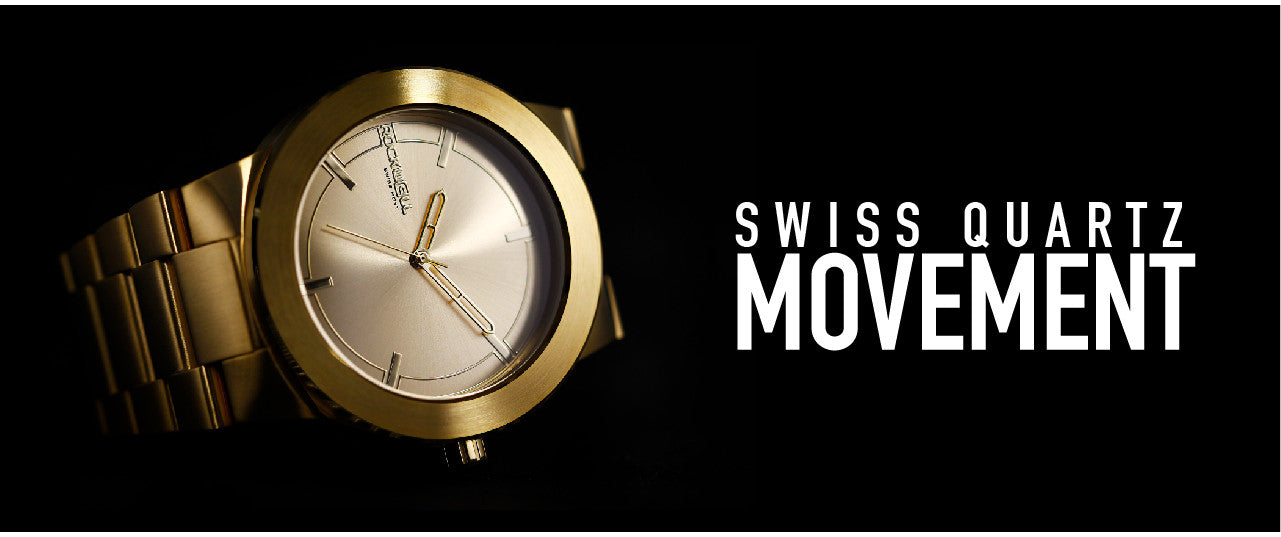 swiss quartz movement on the maverick watch